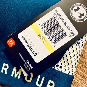 Under Armour Bags - UNDER ARMOUR Mid Crossback Print Sports Bra